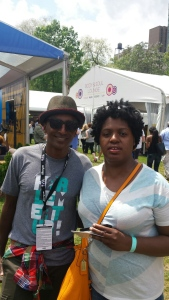 Me and Chef Marcus Samuelson